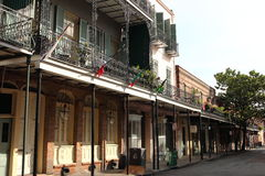 New Orleans French Quarter Street stock photography