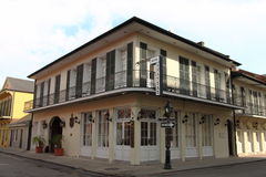 New Orleans French Quarter Street. Scene royalty free stock photography