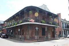New Orleans French Quarter royalty free stock image