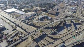 New Orleans highway interchange stock footage