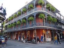 New Orleans Historic Building royalty free stock image