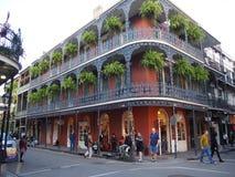 New Orleans historisk byggnad royaltyfri bild