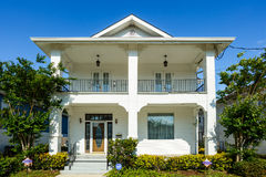 New Orleans Home. New Orleans, LA USA - April 22, 2016: A newly constructed home in the up and coming Broadmoor residential area Stock Photos