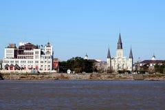 New Orleans horisont royaltyfri foto