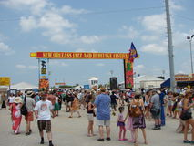 New Orleans jazz & arvfestival Royaltyfri Fotografi