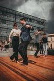 New Orleans Jazz Festival a Cracovia, Polonia Immagine Stock