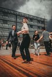 New Orleans Jazz Festival a Cracovia, Polonia Fotografia Stock Libera da Diritti