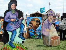 New Orleans Jazz & Heritage Festival Big Easy Style Stock Image