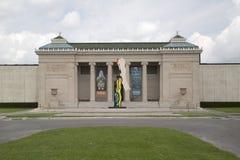 New Orleans konstmuseum fotografering för bildbyråer