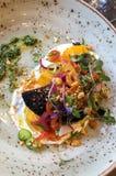 A New Orleans, la cucina messicana è famosa per il suo gusto tagliente fotografia stock libera da diritti