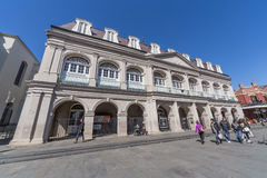 New Orleans, LA/USA - circa February 2016: Louisiana State Museum in French Quarter, New Orleans,  Louisiana Royalty Free Stock Photo