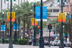 New Orleans, LA/USA - circa March 2009: Canal Street in New Orleans,  Louisiana Stock Photography
