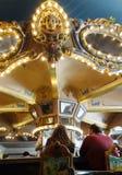 NEW ORLEANS LA/USA -03-17-2019: Den berömda roterande stången av det Monteleone hotellet i New Orleans den franska fjärdedelen arkivfoto