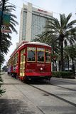 NEW ORLEANS,LA/USA - 3-21-2014: New Orleans Canal St. Street Car Royalty Free Stock Photo