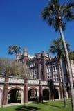 NEW ORLEANS LA/USA -03-22-2019: Universitetsområde av Loyola University i New Orleans royaltyfri foto