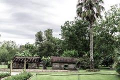 New Orleans Laura Plantation External Kitchen fördärvar royaltyfri foto