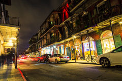 New Orleans liv royaltyfria bilder