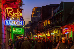 New Orleans liv arkivfoton