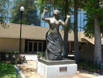 Mahalia Jackson Sculpture At New Orleans Louis Arm Royalty Free Stock Image