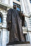 Statue of Edward Douglas White in front of the Supreme Court bui. New Orleans, Louisiana- February 5,2017: Statue of Edward Douglas White, a United States Royalty Free Stock Images