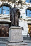 Statue of Edward Douglas White in front of the Supreme Court bui. New Orleans, Louisiana- February 5,2017: Statue of Edward Douglas White, a United States Stock Images