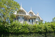 New Orleans, Louisiana Garden District Historic Home stock photography
