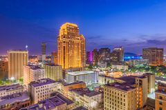 New Orleans Louisiana, USA Royaltyfri Bild