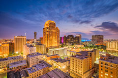 New Orleans, Louisiana, USA. Central Business District skyline Stock Image