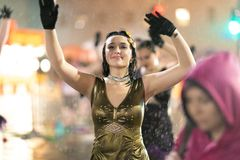 Mardi Gras Parade New Orleans stock photos