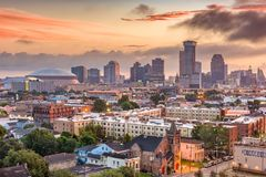New Orleans, Louisiana, USA royalty free stock images