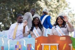 The Bayou Classic Parade 2018 stock image