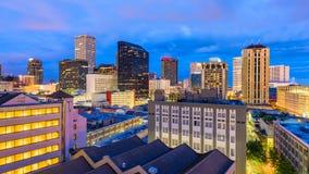 New Orleans, Louisiana, USA. Skyline royalty free stock photos
