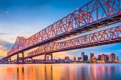 New Orleans, Louisiane, de V.S. Stock Afbeelding