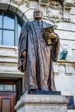 New Orleans, Louisiane: Standbeeld van Edward Douglas White, senator en de negende Opperrechter van het Hooggerechtshof van de Ve royalty-vrije stock foto's