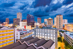 New Orleans, Lousiana, USA Skyline. Royalty Free Stock Photos