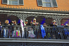 New Orleans Mardi Gras 2010 Stock Photos