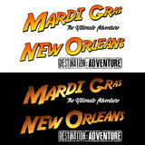 New Orleans Mardi Gras Adventure Royalty Free Stock Photography