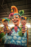 New Orleans - Mardi Gras Float Royalty Free Stock Photos