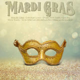 New Orleans Mardi Gras Mask Collection Royalty Free Stock Photography