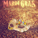 New Orleans Mardi Gras Mask Collection Royalty Free Stock Image