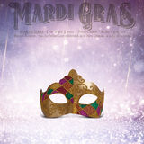New Orleans Mardi Gras Mask Collection Royalty Free Stock Photos