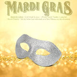 New Orleans Mardi Gras Mask Collection Royalty Free Stock Photo
