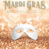 New Orleans Mardi Gras Mask Collection Stock Photo