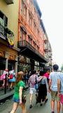 New Orleans Mardi Gras Street Fotografía de archivo libre de regalías