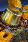 New Orleans - Mardi Gras - Verenigde Staten stock afbeeldingen