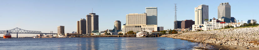 New Orleans - Morning Skyline Royalty Free Stock Photography