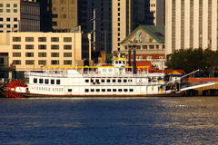 New Orleans Paddlewheeler Creole Queen Royalty Free Stock Images