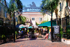 New Orleans - parque musical de las leyendas Imagenes de archivo