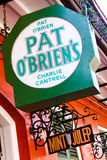 New Orleans Pat OBriens Bar Mint Julep Stock Images