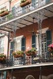 New Orleans platsgata Royaltyfri Bild
